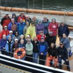 A Big Group of Seniors on a Boat Trip in New Hampshrie