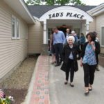 A Group of Seniors Leaving Tad's Place After a Show at Havenwood Heritage Heights in New Hampshire