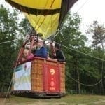 Hot Air Balloon Ride at HHH (Continuing Care Retirement Community) in Concord NH