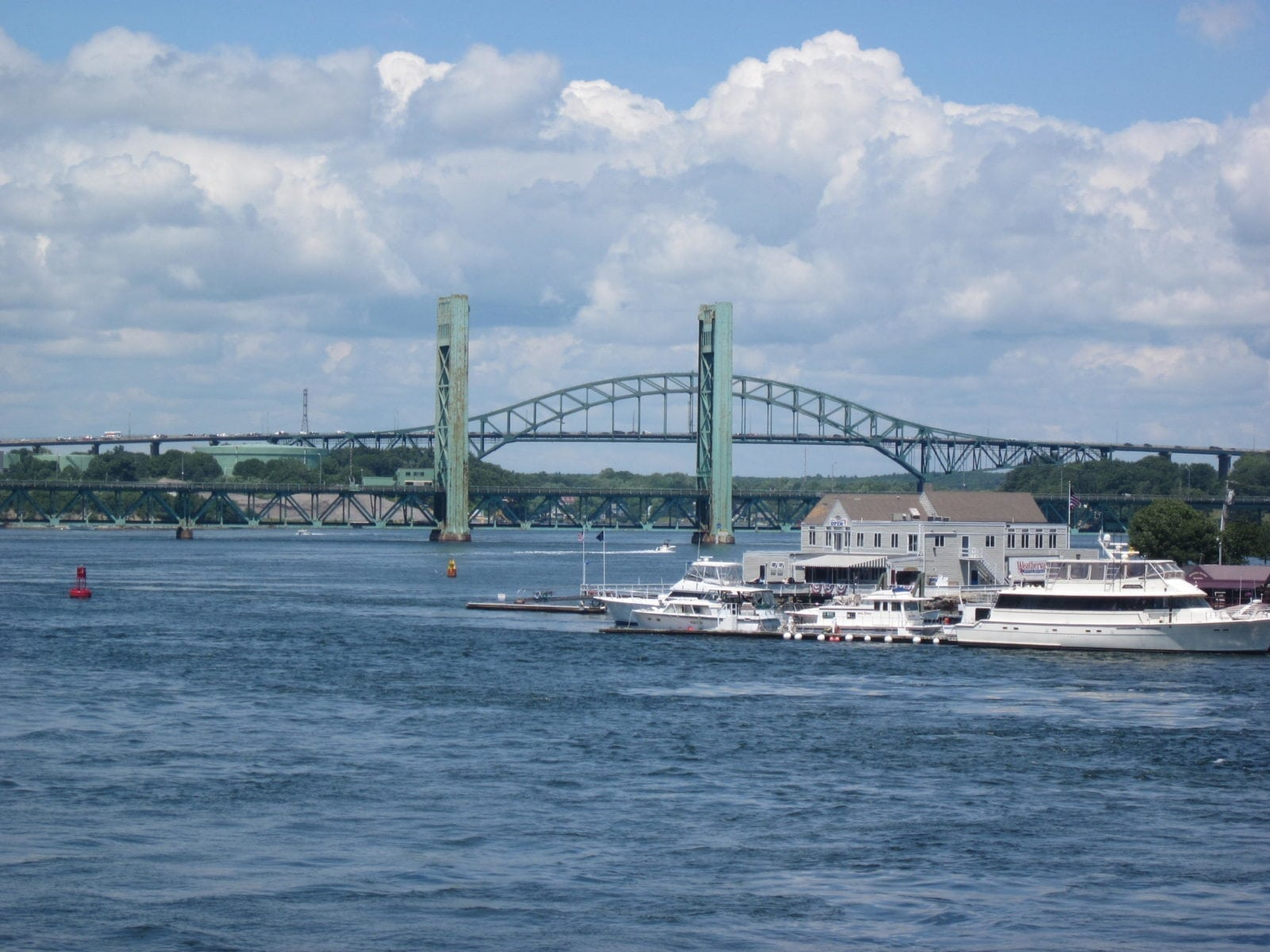 Portsmouth Bridge in Concord, New Hampshire